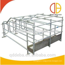 pig farming use hot galvanized popular gestation crate sow stall pig pen